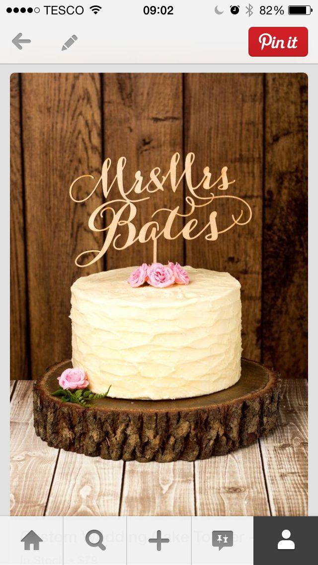 Hervorragend Cake Topper   Wedding Cake   Pinterest   Torten