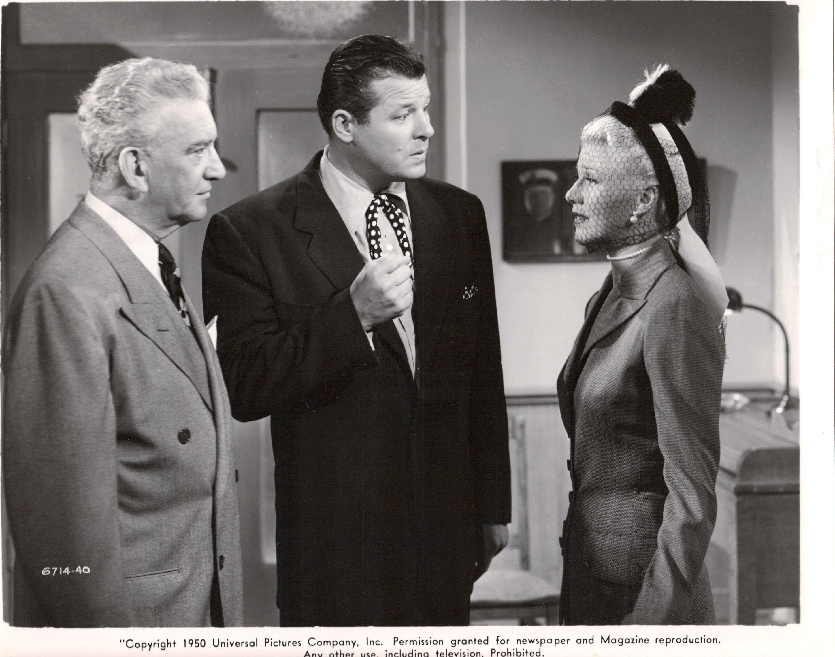 Ginger Rogers The Groom Wore Spurs 1951 Jack Carson finally ends up with Ginger in this one.
