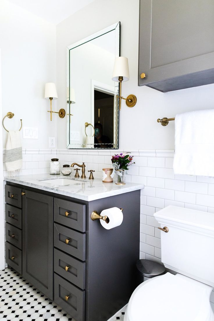 Oak Ridge (Bathroom) — Katie Davis Design