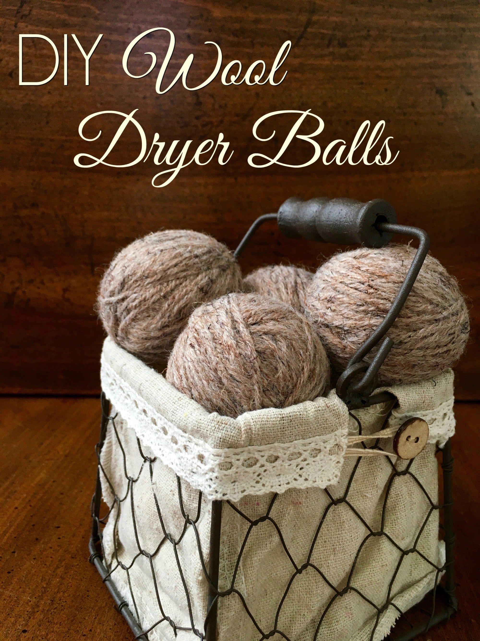 Diy wool dryer balls simple sojourns diy wool wool