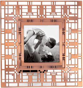 Met 6750 Xmas Frank Lloyd Wright Frame Oak Park