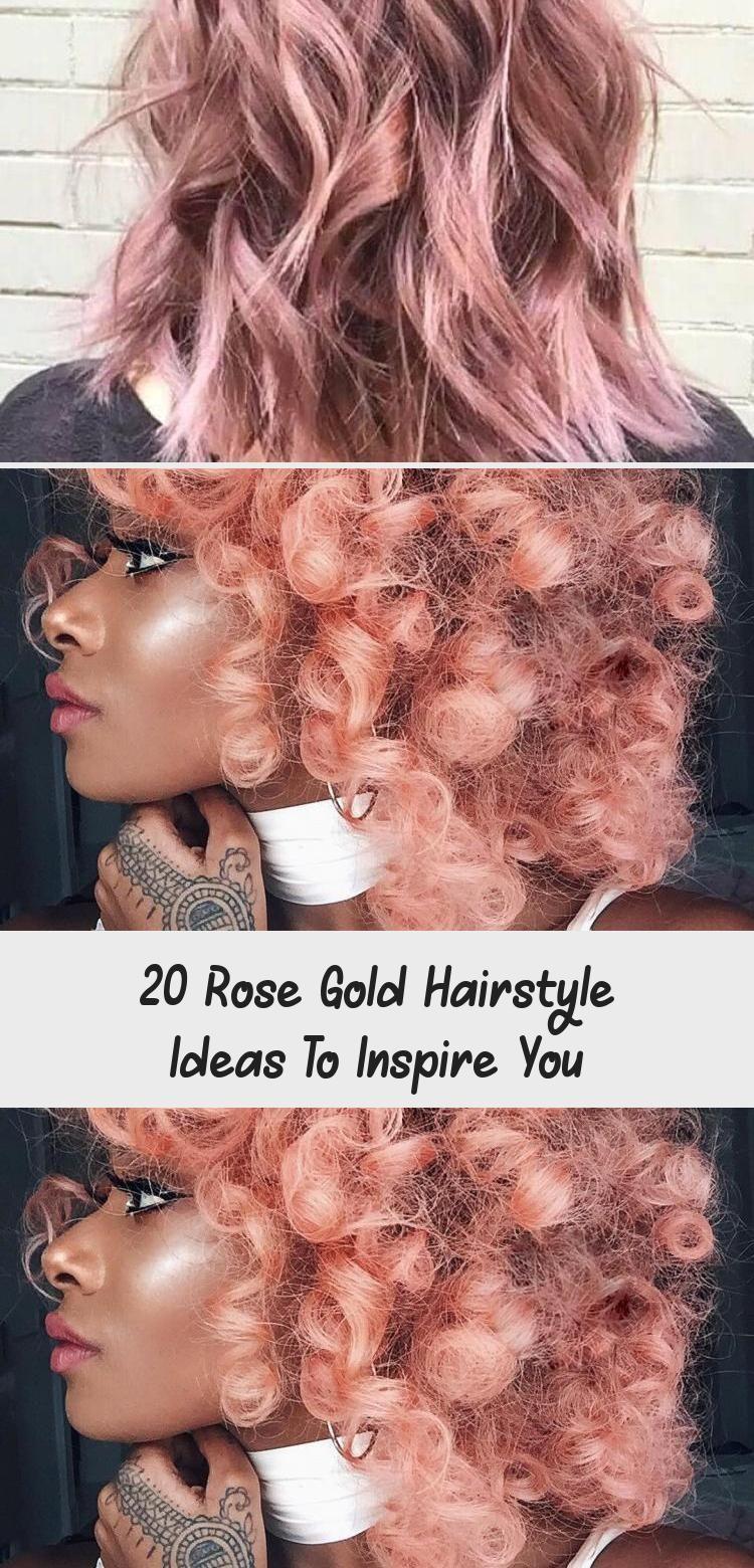 Photo of 20 Rose Gold Frisur Ideen, Sie zu inspirieren – Frisur