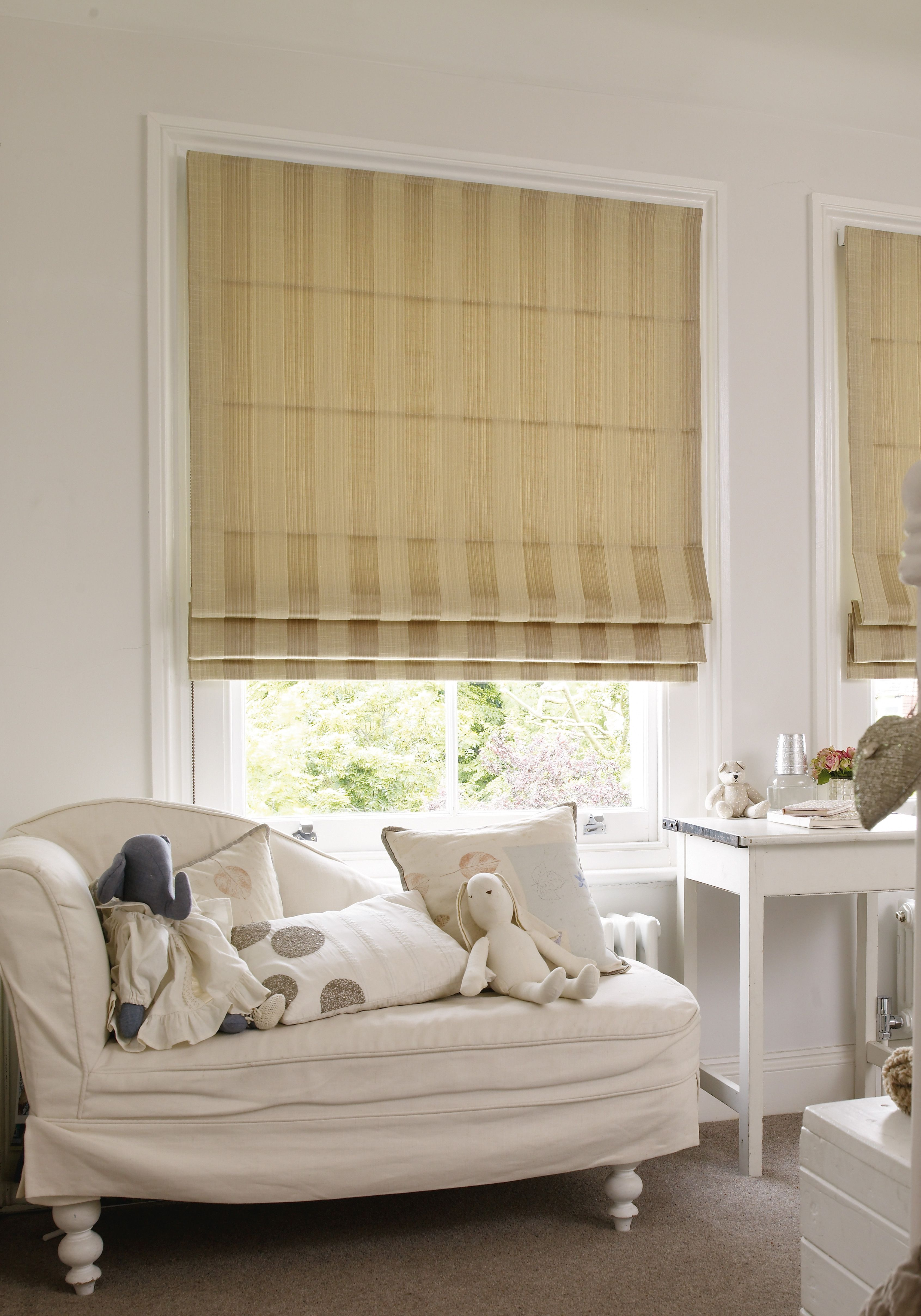 Our Beautiful Roman Blinds Come In A Wide Range Of Fabrics