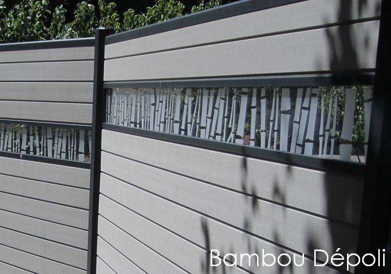 cloture décorative en bois composite Océwood® | Terrement ... on