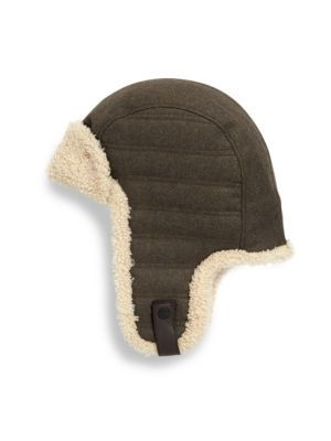 0250f7d2e8390 UGG Woven Shearling Trapper Hat.  ugg