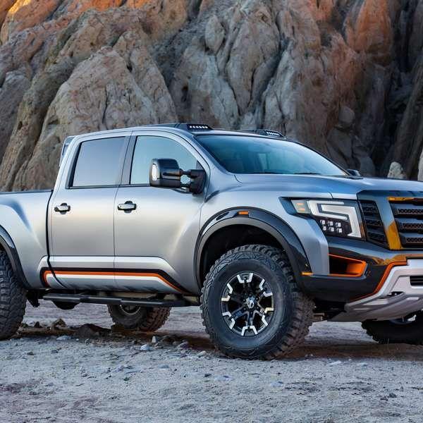 Nissan presenta la nueva pickup TITAN Warrior Concept