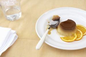 Orange Flan (Flan de Naranja) Dessert Recipe
