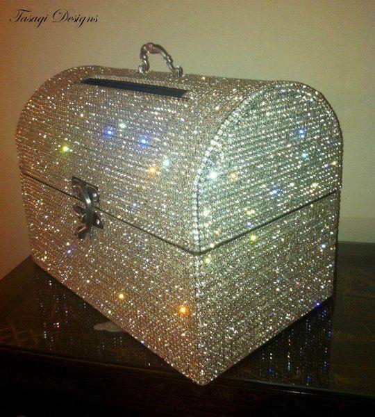 Crystallized Money Boxes Tasagi | Money box, Favors and Box