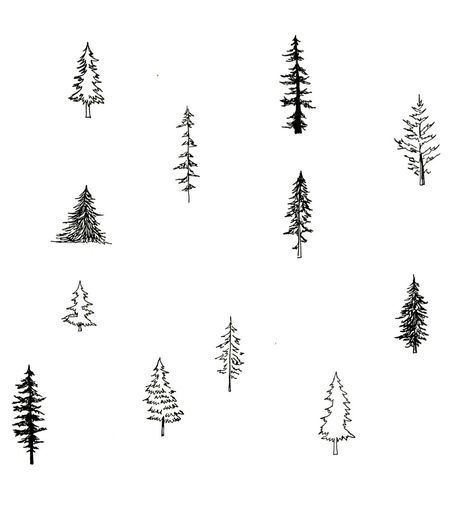 New simple tree drawing sketches Ideas