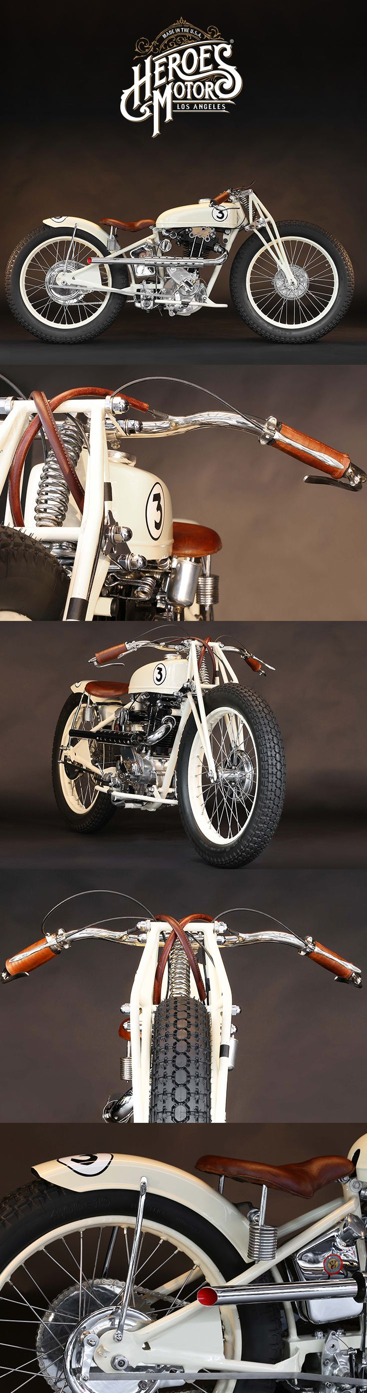 1936 Koehler-Escoffier 350cc racer motorcycle   France   Photography by Serge Bueno