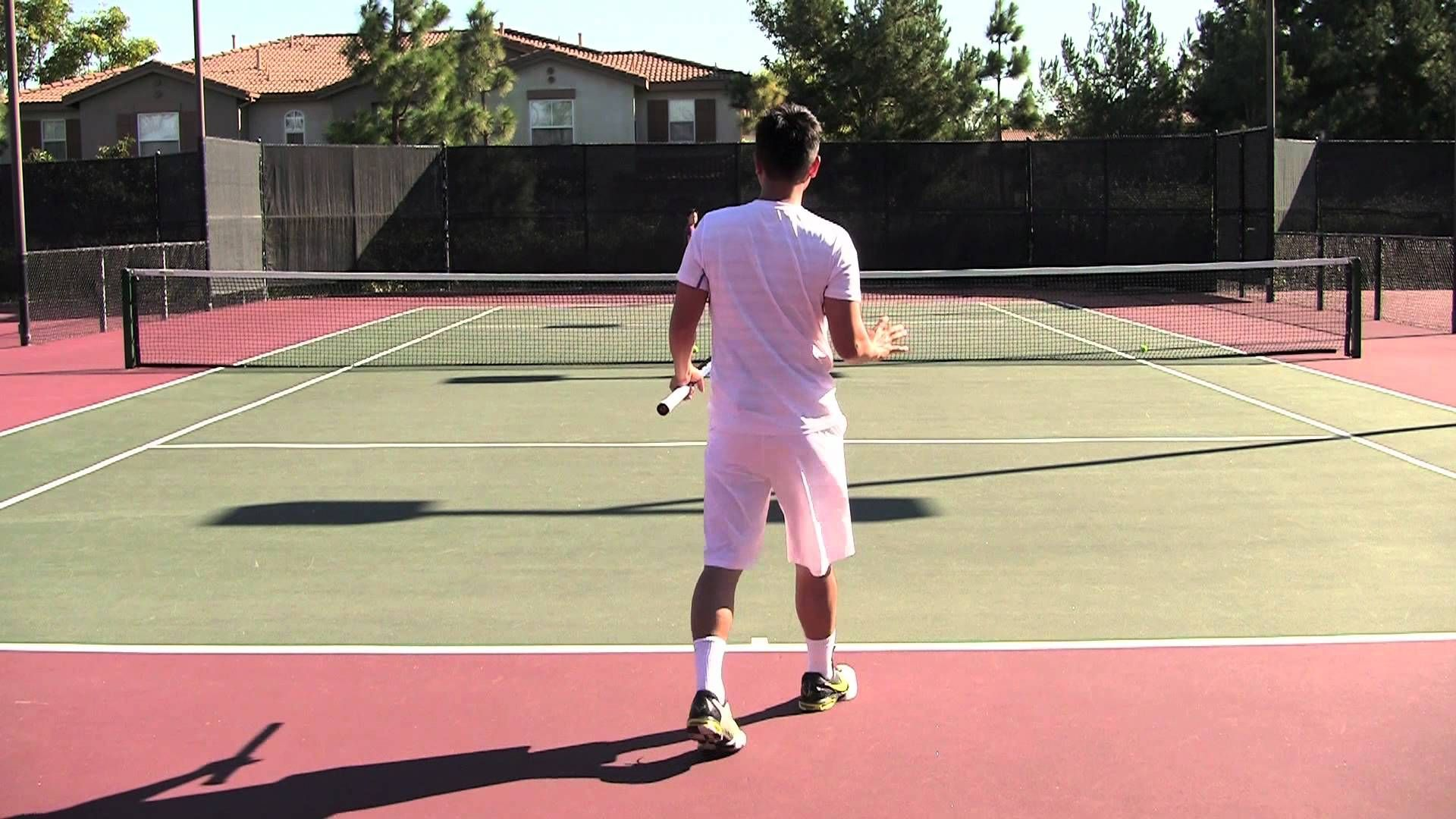 Tennis Lesson for Beginners Actual Game Part 3 of 5