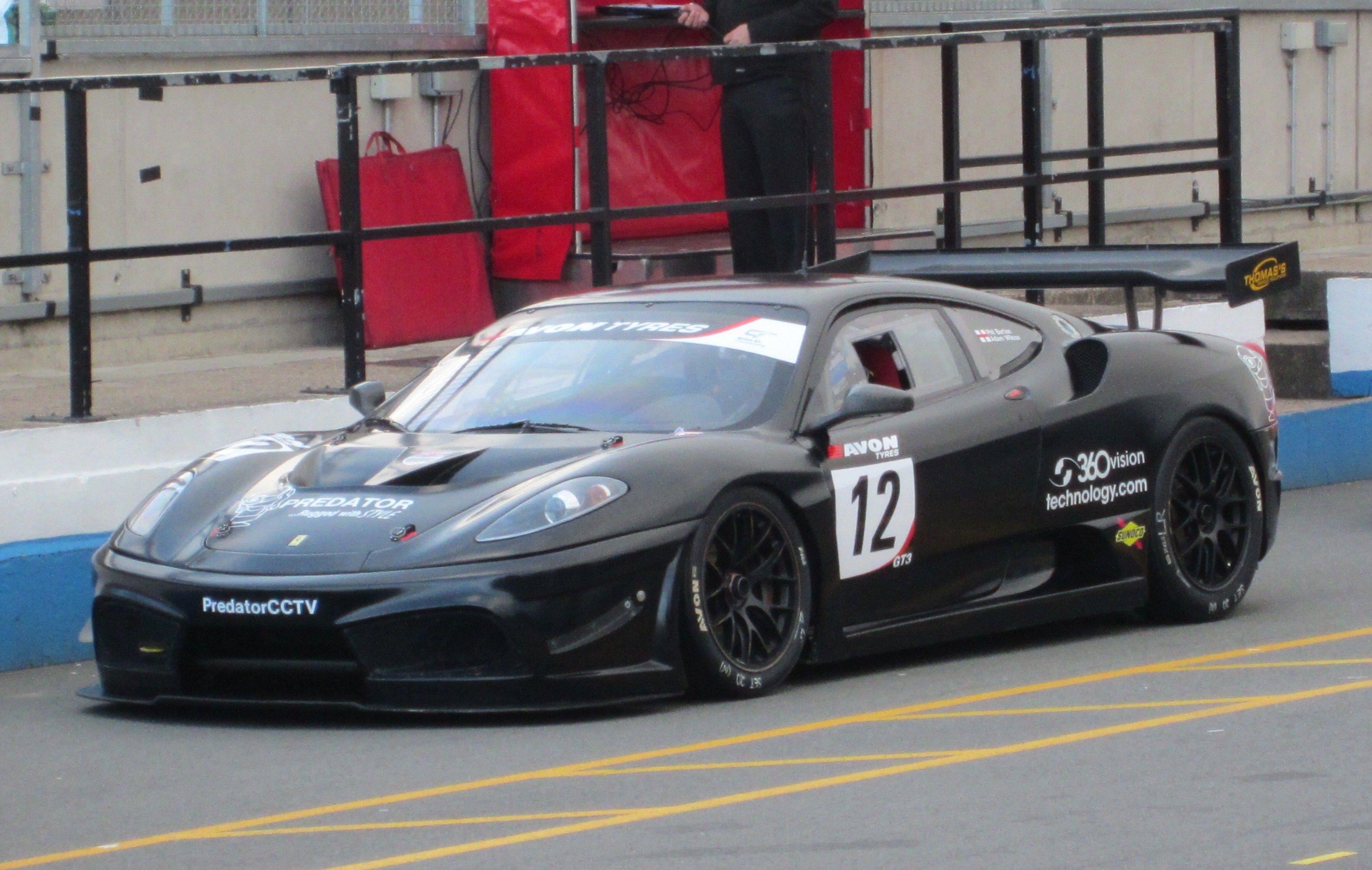 Ferrari 430 Scuderia Gt3 Ferrari F430 Ferrari Race Cars