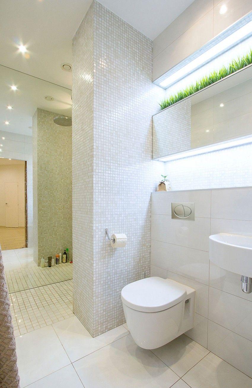 Bathroom interior wall studio apartment in st petersburg by gdesign studio  studio