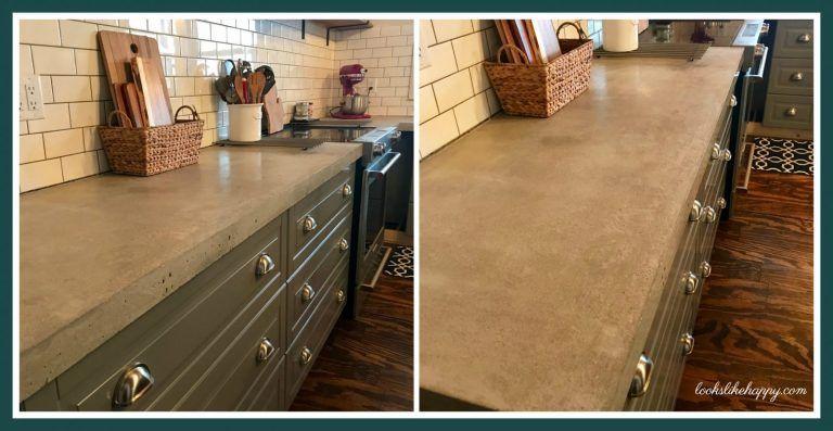 Weekend Project Diy Concrete Countertops Kitchen Ideas