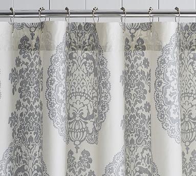 Lucianna Medallion Shower Curtain Medallion Shower Curtain