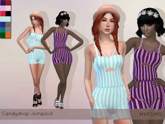 Female Cute Morning Pyjamas Found in TSR Category Sims 4