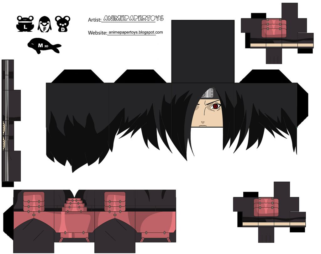 Image Detail For Cool Anime Papercraft Chi
