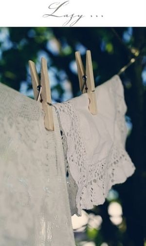 Love vintage linens and lace.