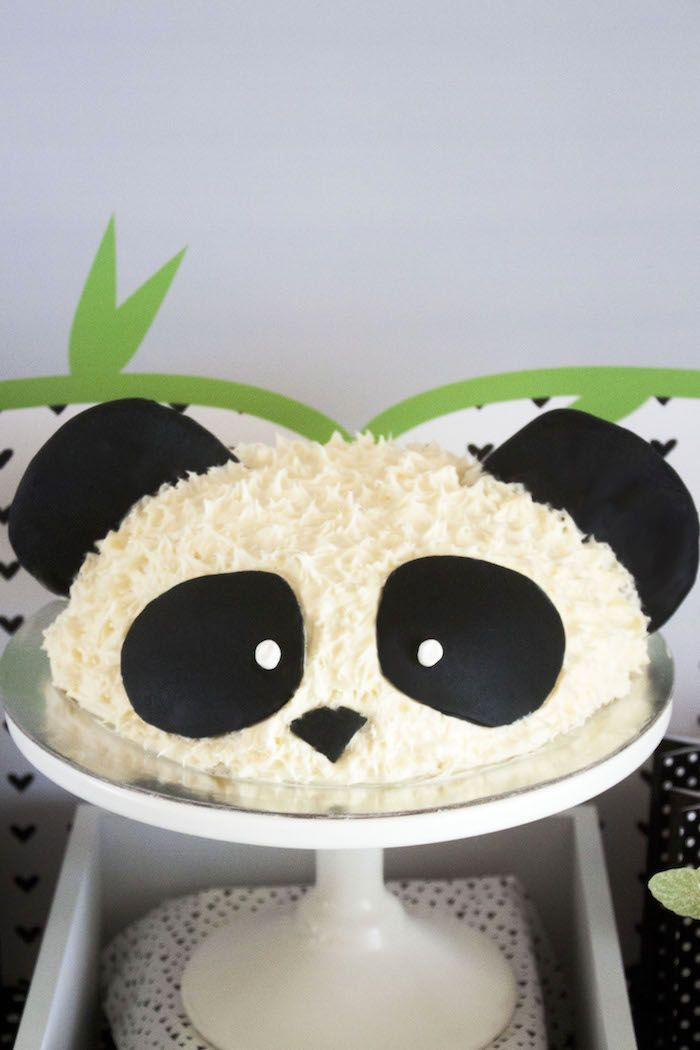 panda bear cake template - panda bear panda monium birthday party bakning
