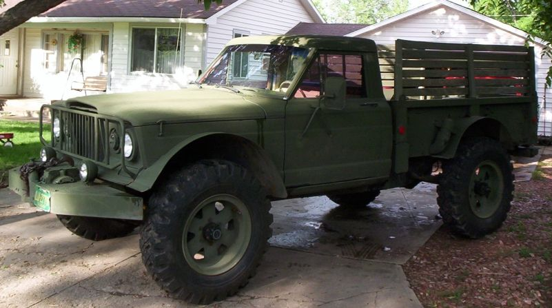 Modified Kaiser Year/Model 1968 Kaiser Jeep M715 Engine