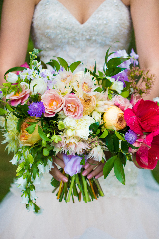 Colorful Bouquet Garden Style Bouquet Wedding Bouquet Non