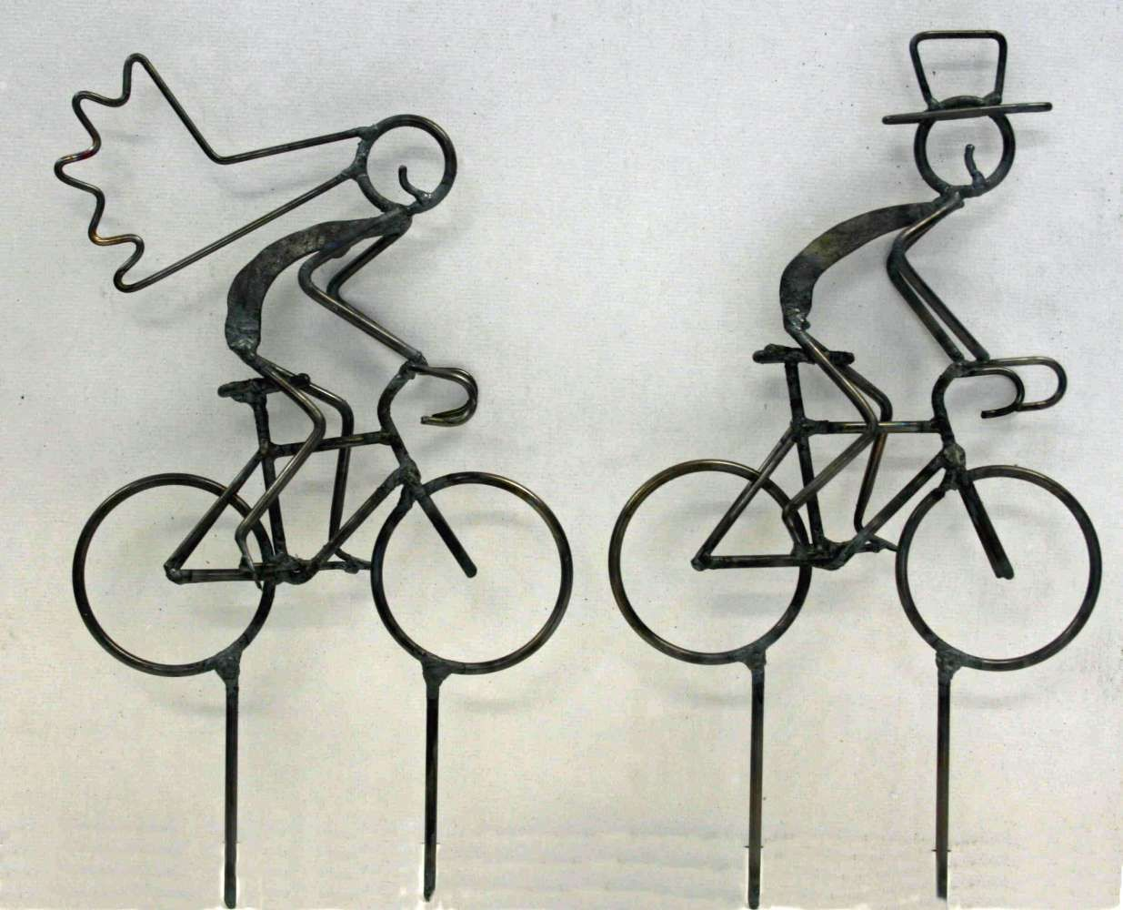 Bike Themed Wedding Cake Toppers Tandems Tandem Decorations Cyclist