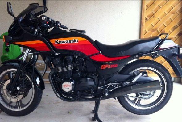 My Kawasaki GPz 550 A3 1986 | Sportbikes, Kawasaki, Sport ...