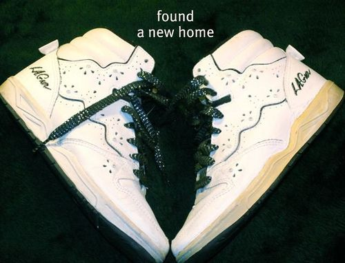 Vintage LA Gear High top Sneakers w Rhinestones | High tops