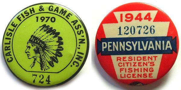 U.S Vintage Badges