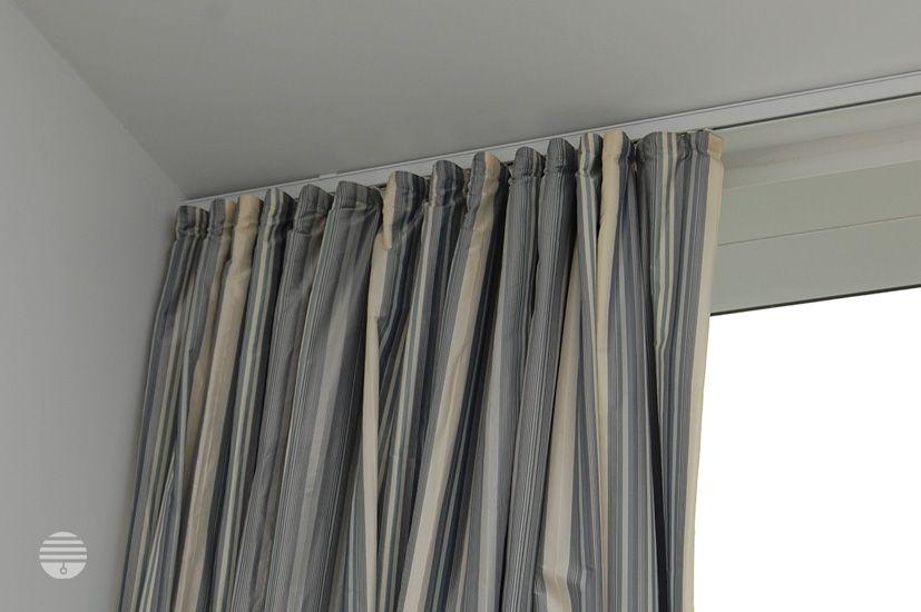 White Curtain Track Ripplefold, Hospital Track, Apartment Window ...