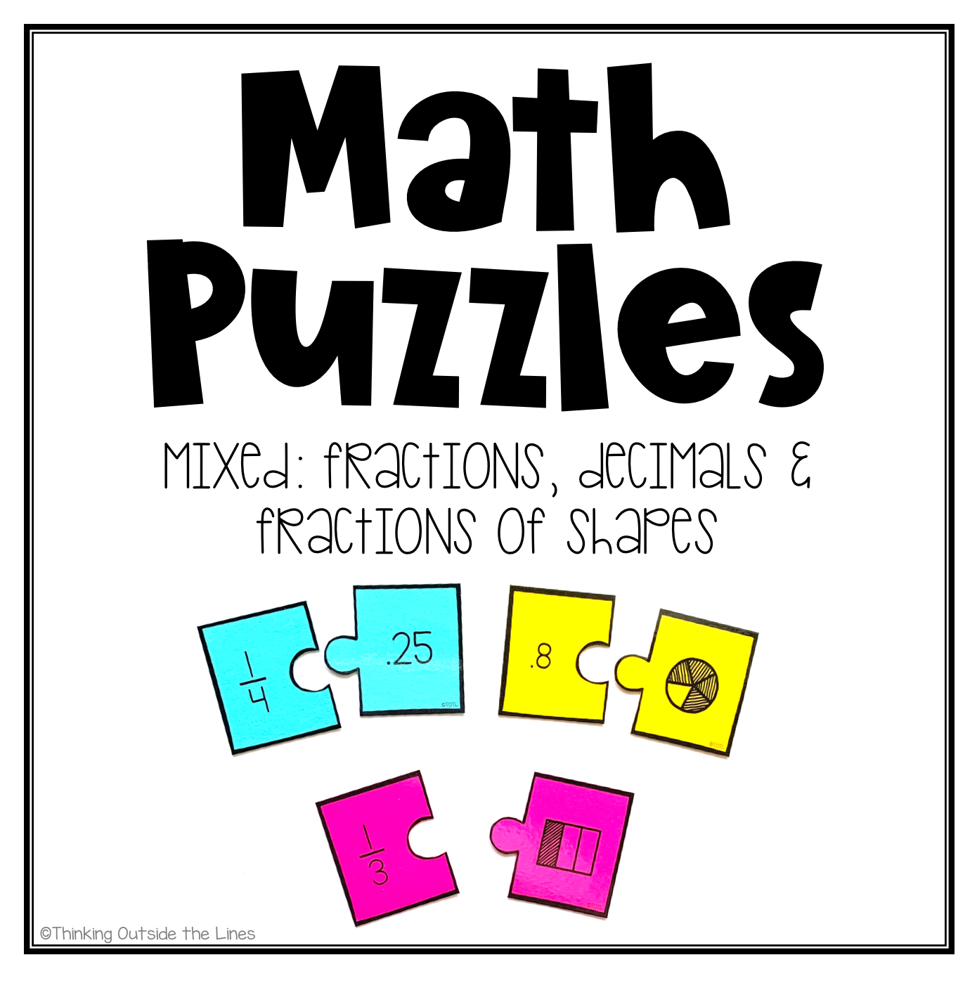 Mixed Equivalent Fraction Fractions Of Shapes And