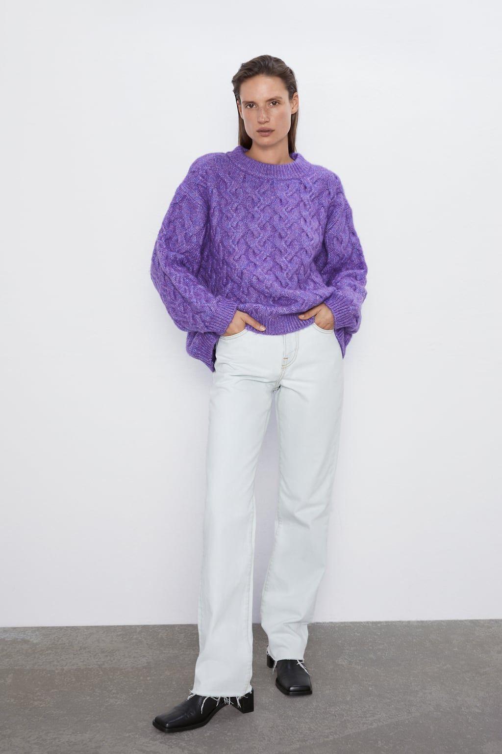 Oversized Sweater Cardigan 2015 Olivia Palermo Runway
