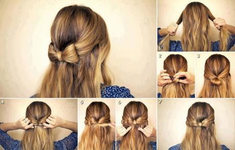 Coiffure Simple Et Rapide Pour Cheveux Mi Long Coiffure
