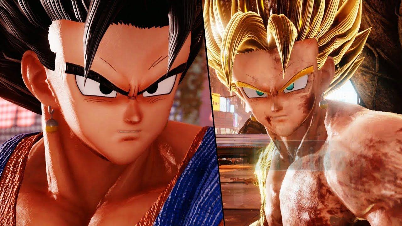 Vegito Joins The Fight Super Saiyan Vegito Vs Naruto Team Battle Vegit Naruto Teams Super Saiyan Battle