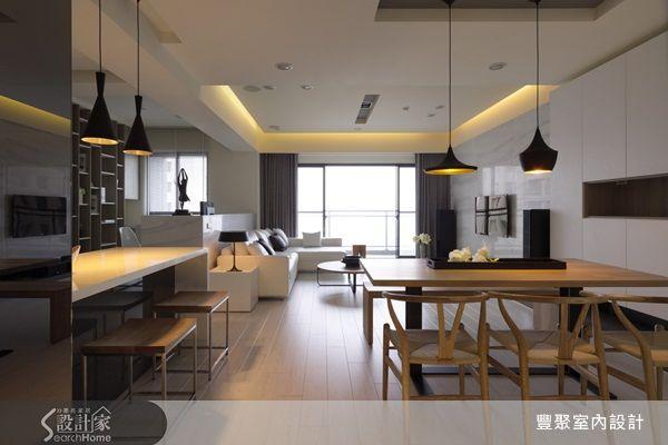 開放格局「放大2倍」空間感,年輕夫妻的簡約木質感宅 設計家 Searchome