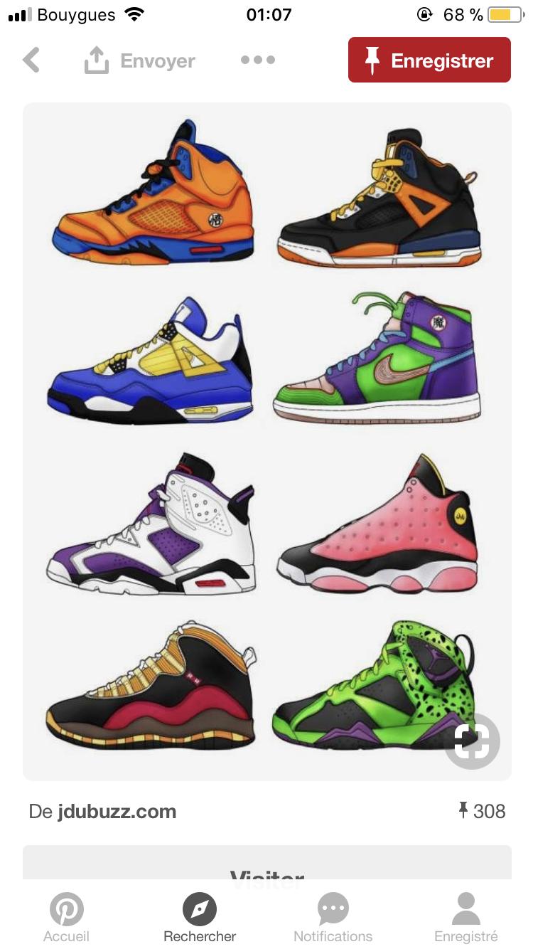 Sneakerart Dessin Nike Sneakers Drawing Jordan Lifestyle 5LARq34j