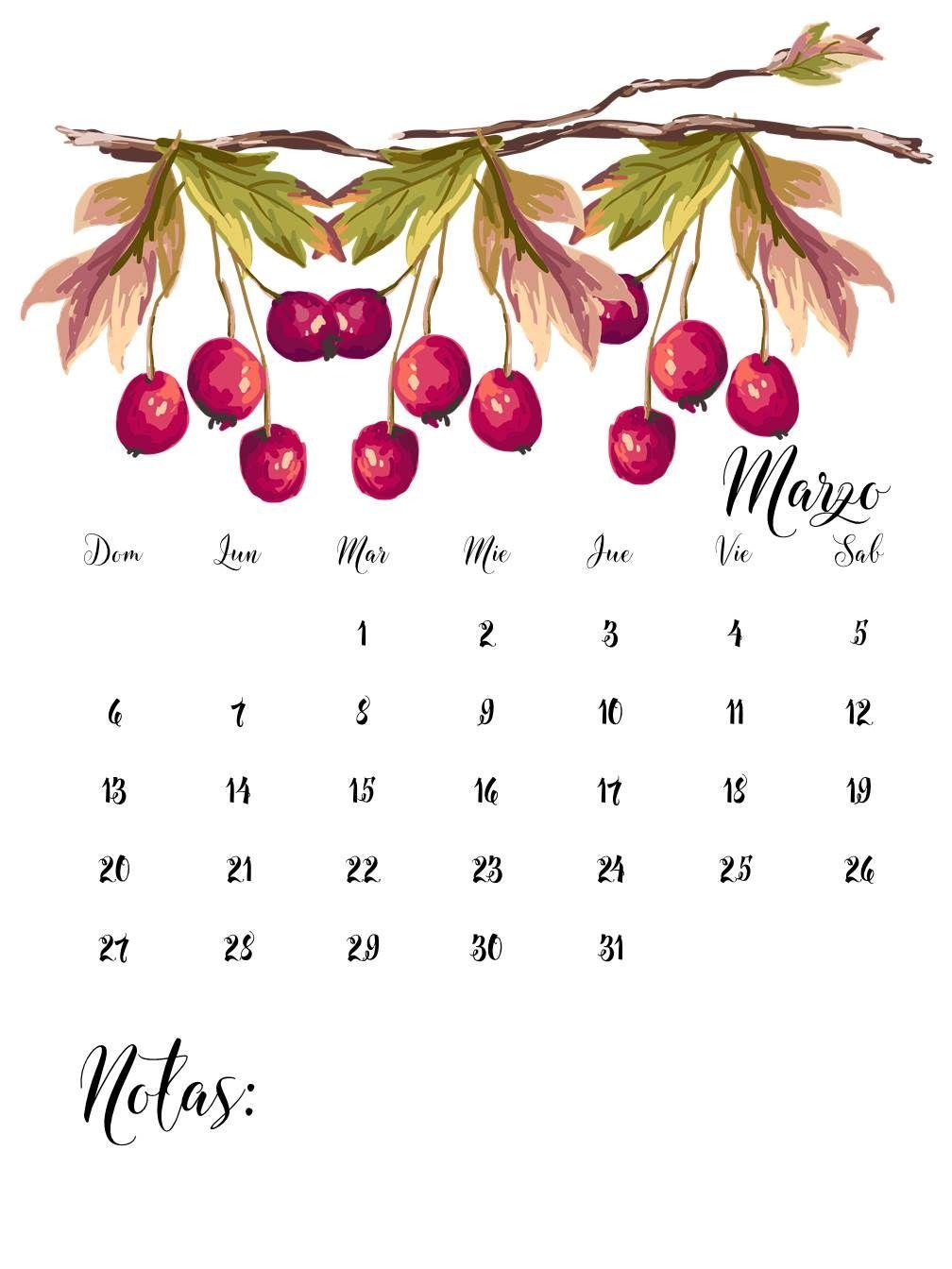 Calendarios Marzo 2016 para imprimir.                      THEBBT