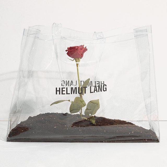 5e14617306d Limited Edition HELMUT LANG PVC Bag AVAILABLE TO THE FIRST 100 SHOPPERS IN OUR  NY AND LA STORES 821 WASHINGTON ST, NY 8808 MELROSE AVE, WEST HOLLYWOOD