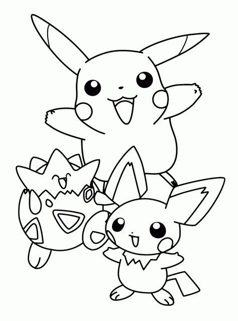 Pokemon Coloring | Crafts | Pinterest | Colores, Colorear anime and ...