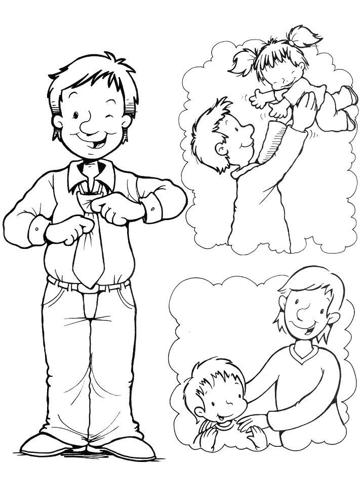 Dicas De Desenho Para Colorir Para O Dia Dos Pais Dia Dos Pais
