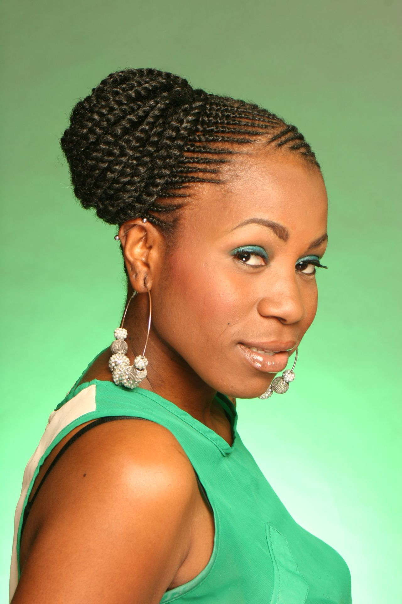 Beautiful Natural Hairstyles Braids Contemporary Styles Ideas