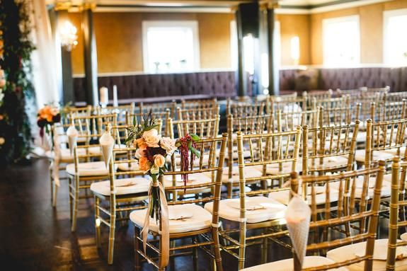 Romantic Wine Colored Wedding Semple Mansion Linen Effects