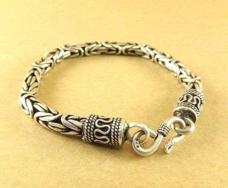 """26.5/"""" HEAVY TWIST WOVEN LINK SILVER CHAIN NECKLACE NEW"""
