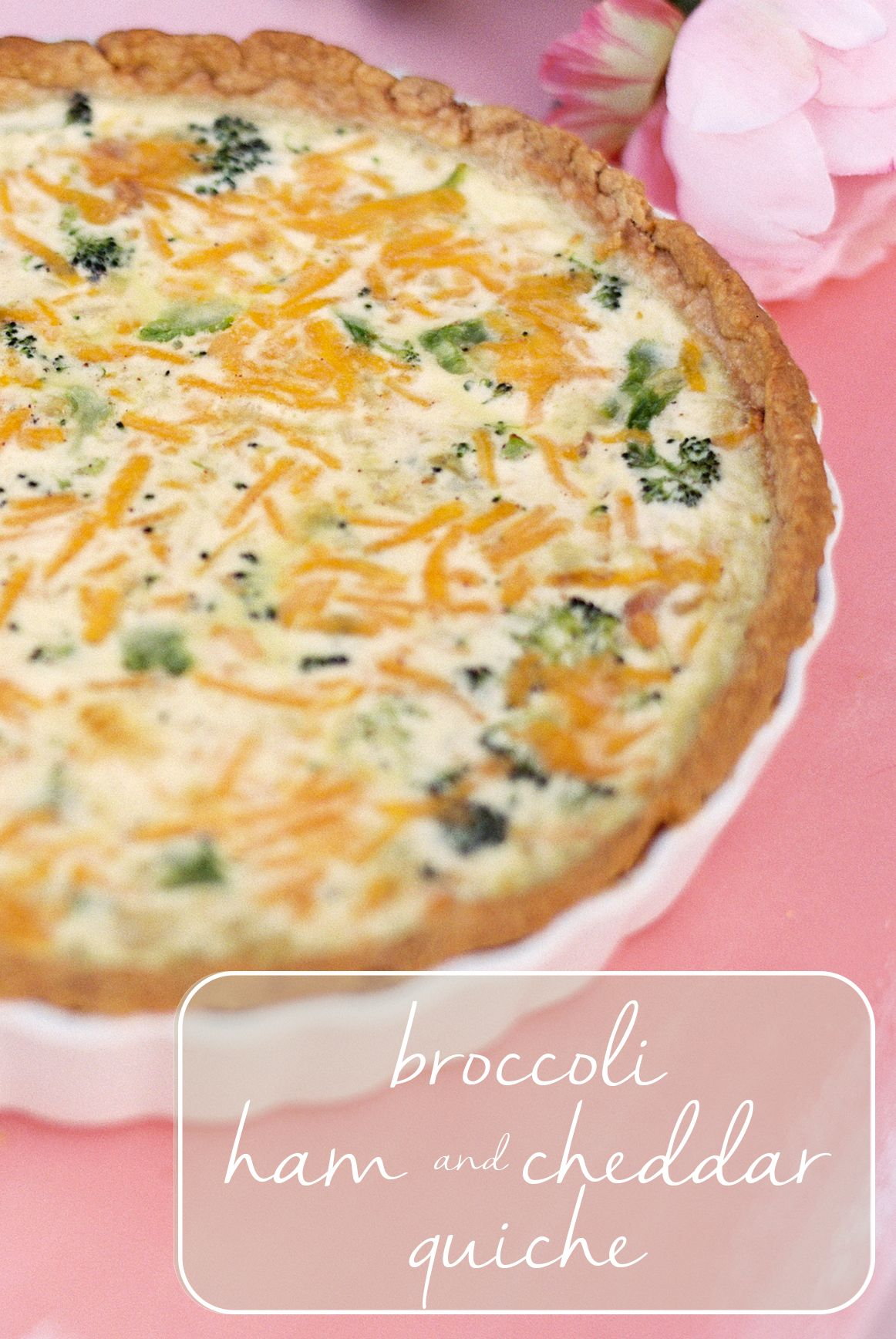 Broccoli, ham and cheddar quiche is surprisingly easy to make. Al Roker shares his tasty recipe that will feed a crowd.