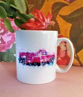 Red Classic Car Ceramic Mug, The perfect gift for a classic car enthusiast! Fab …