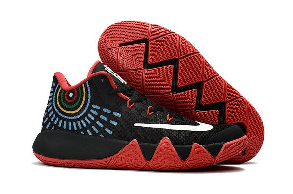 3733ebef3a1d Nike Kyrie 4 Original Nike Zoom Kyrie 4 Basketball Shoe Kyrie 4 Black Red  Kyrie Irving 4 New Release 2017 For Sale