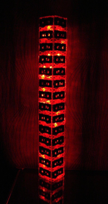 Red LED Mixtap Cassette Tape Light