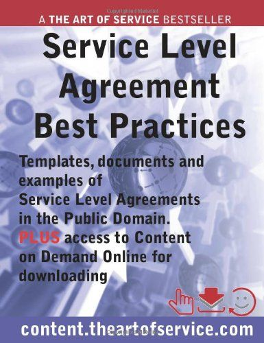 Writing service level agreement outsourcing template