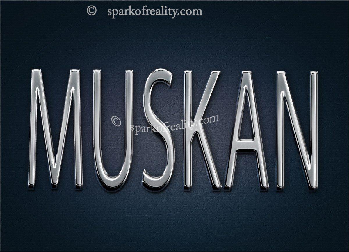 MUSKAN S letter images, Finger henna designs, Text art