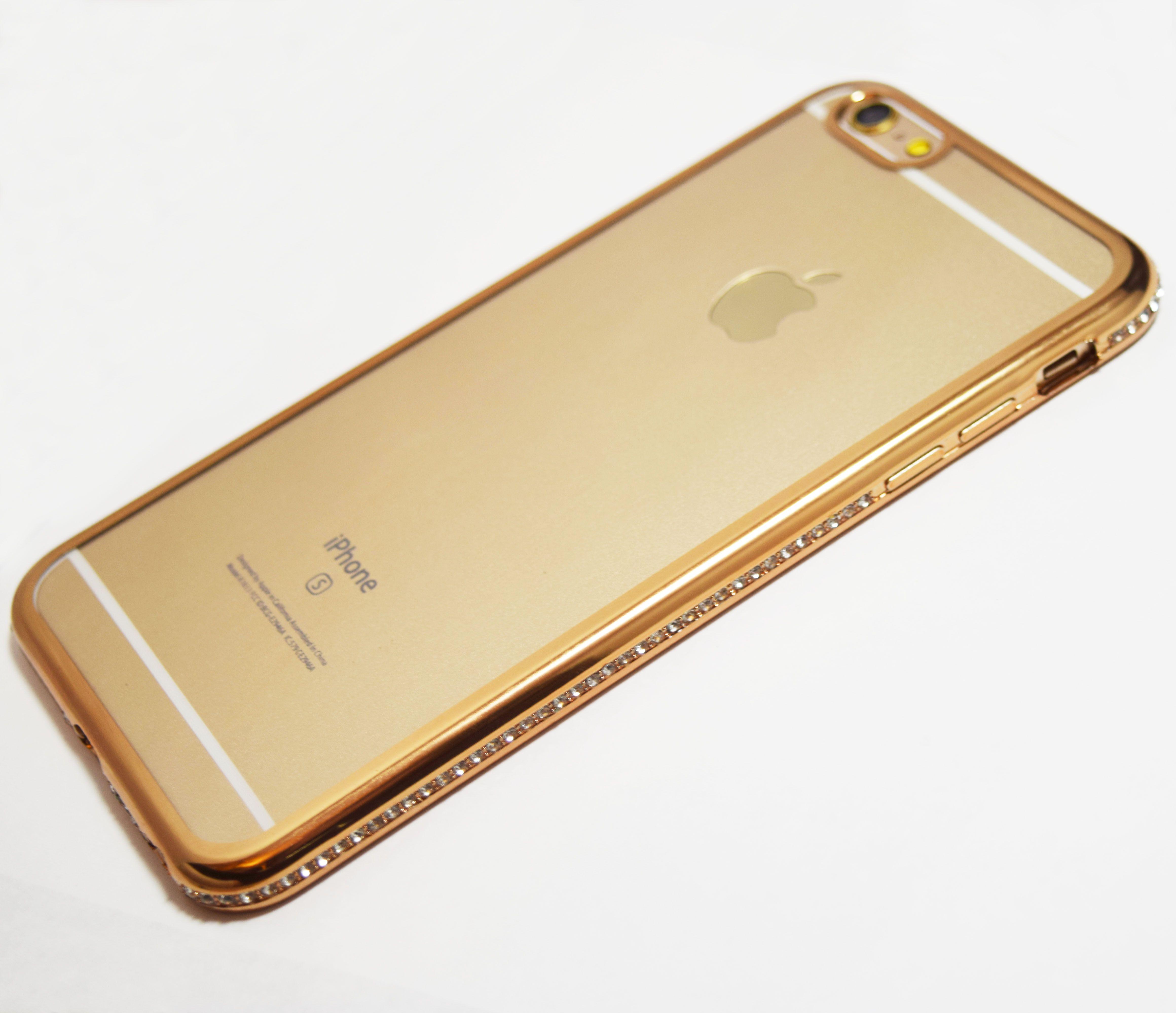 iphone 6 plus case gold